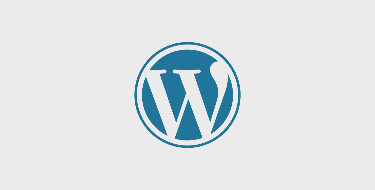 WordPress Entwicklung in Frankfurt - WordPress Logo - Programmierer WordPress Frankfurt