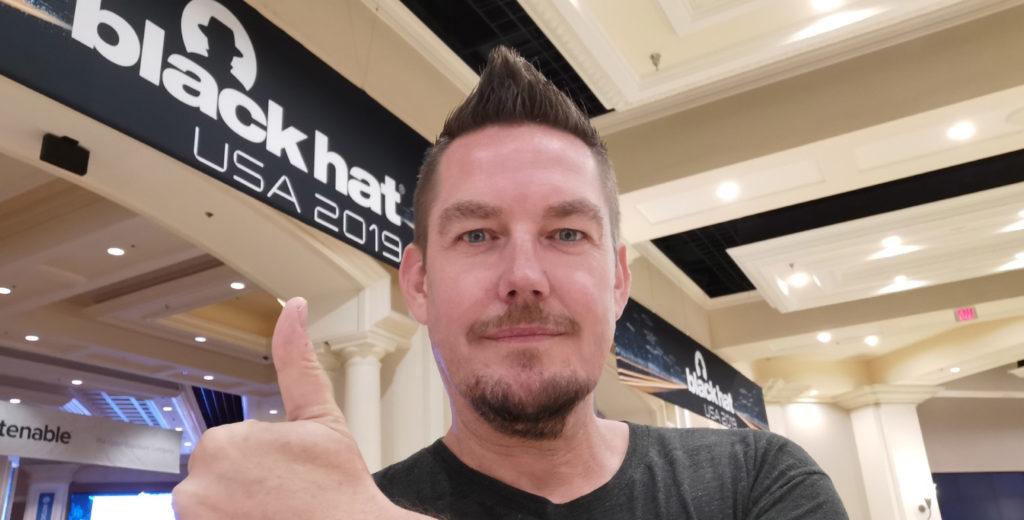 IT Sicherheitsexperte Michael Wutzke auf der Black Hat USA 2019 in Las Vegas