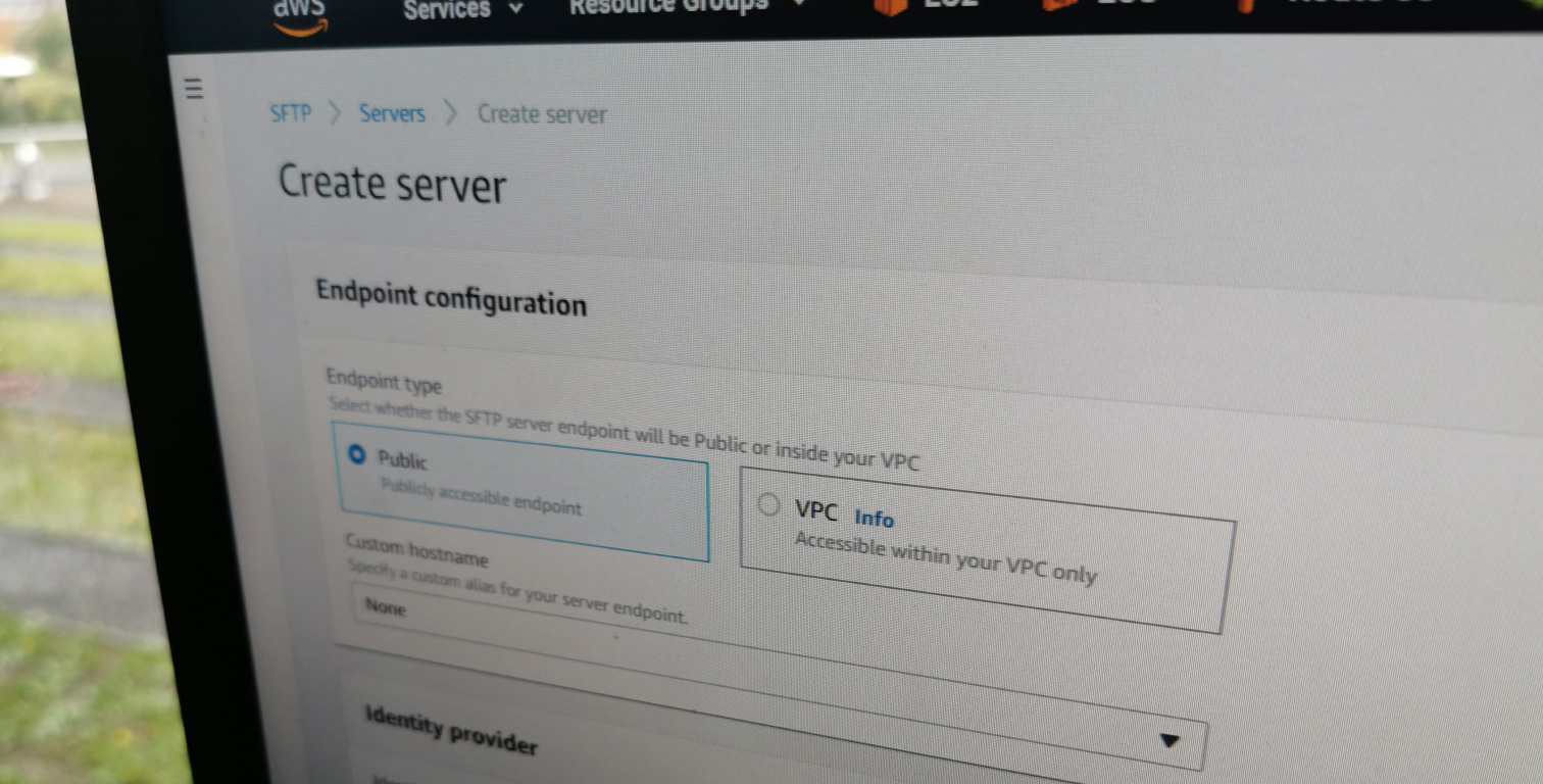 AWS Transfer for SFTP - FTP Server bei Amazon Web Services
