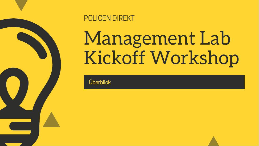 Policen Direkt Management Lab